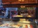 Cafe window in Dublin